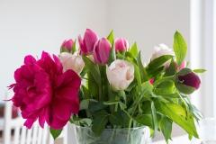 Blumen-Pfingstrosen-Tulpen-Rosen-Strauß-Bunt3