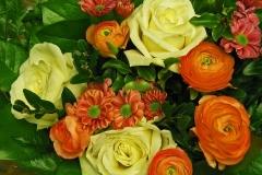 Blumenstrauss-Blumengruss-Rosenstrauß-Blumenstrauß1